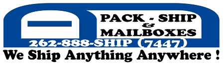 Pack Ship & Mailboxes, Jackson WI